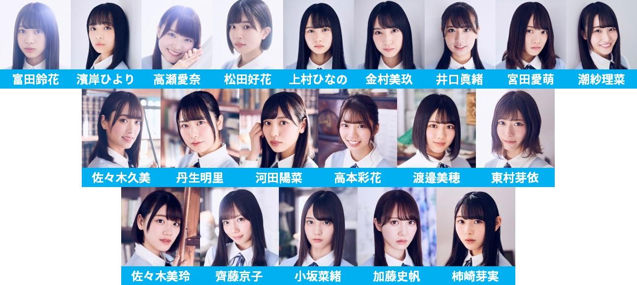 日向坂46「キュン」選抜フォーメーション