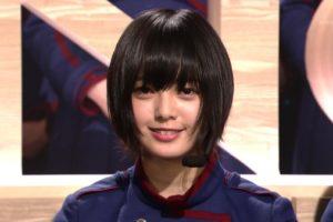 SONGSに出演した欅坂46の平手友梨奈