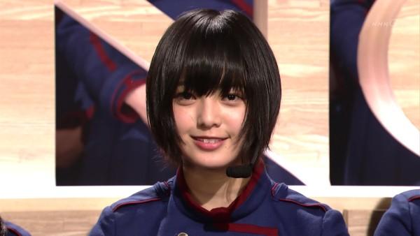 笑顔が可愛い平手友梨奈