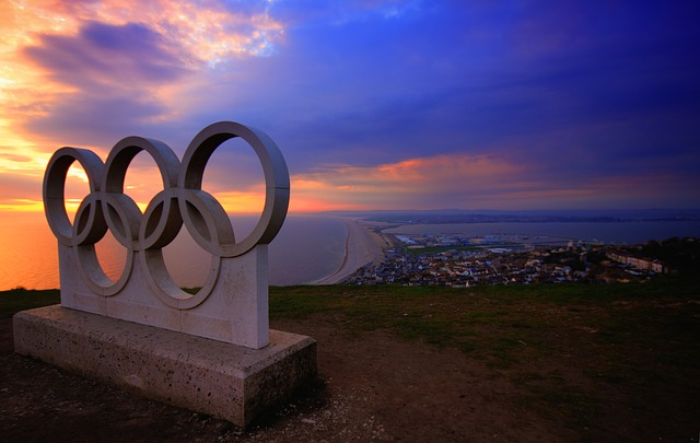 ポートランドのオリンピック像